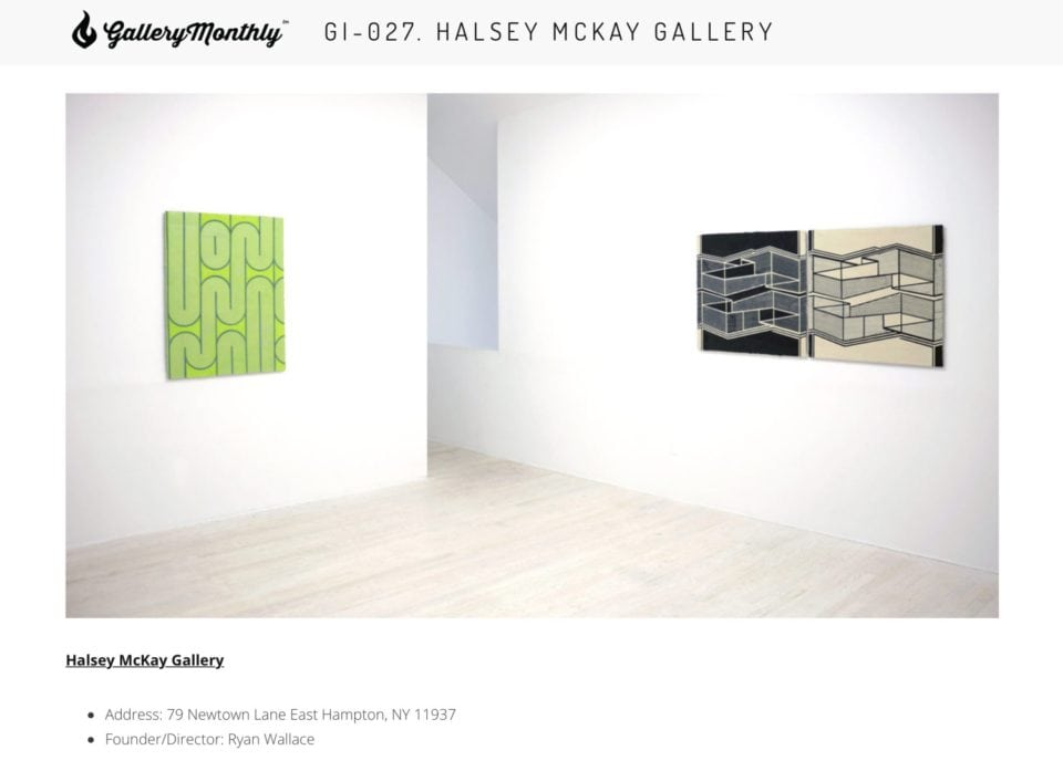 Gallery Monthly