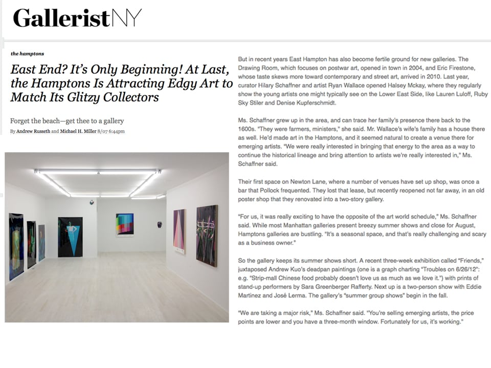 Gallerist NY Kuo Rafferty